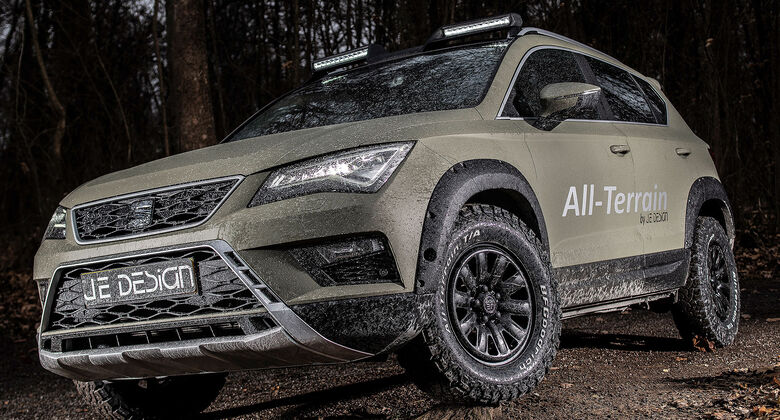 Seat Ateca JE Design All Terrain Front