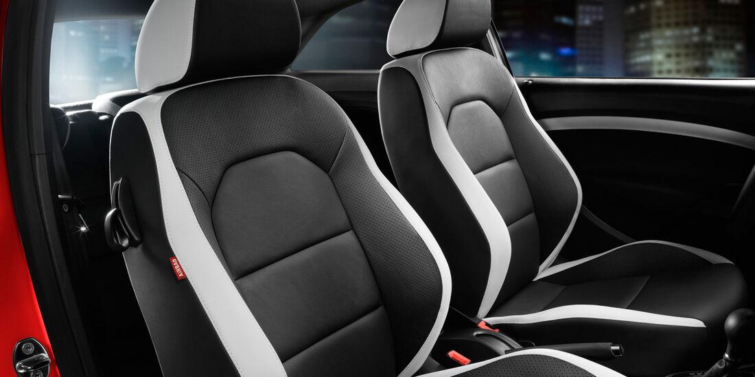 Seat Ibiza Cupra, Frontsitze