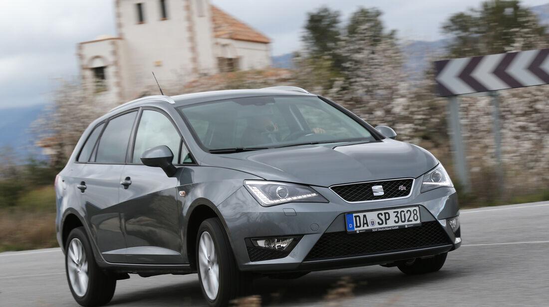 Seat Ibiza ST 1.6 TDI, Frontansicht