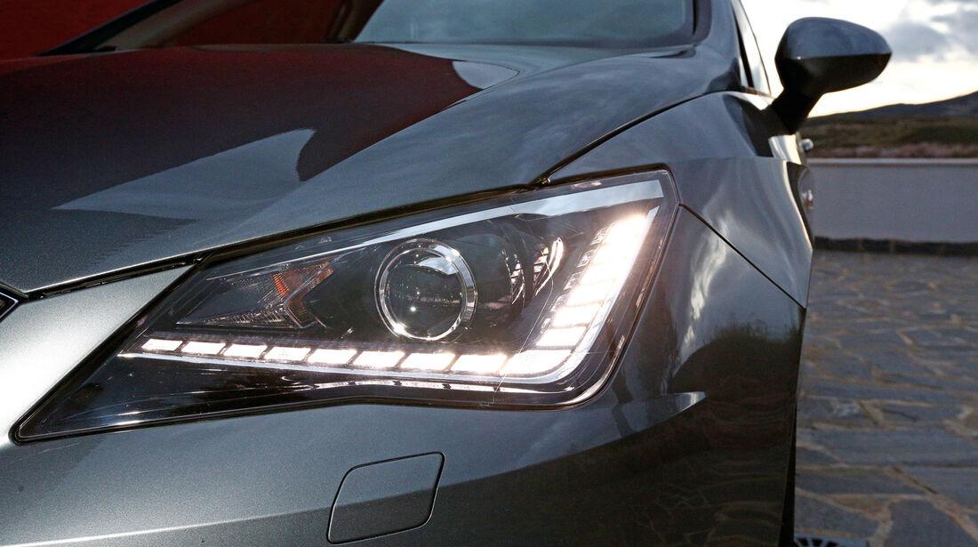 Seat Ibiza ST 1.6 TDI, Frontscheinwerfer