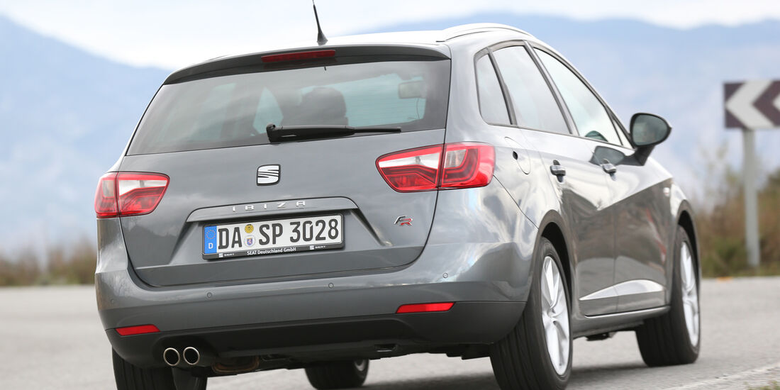 Seat Ibiza ST 1.6 TDI, Heckansicht