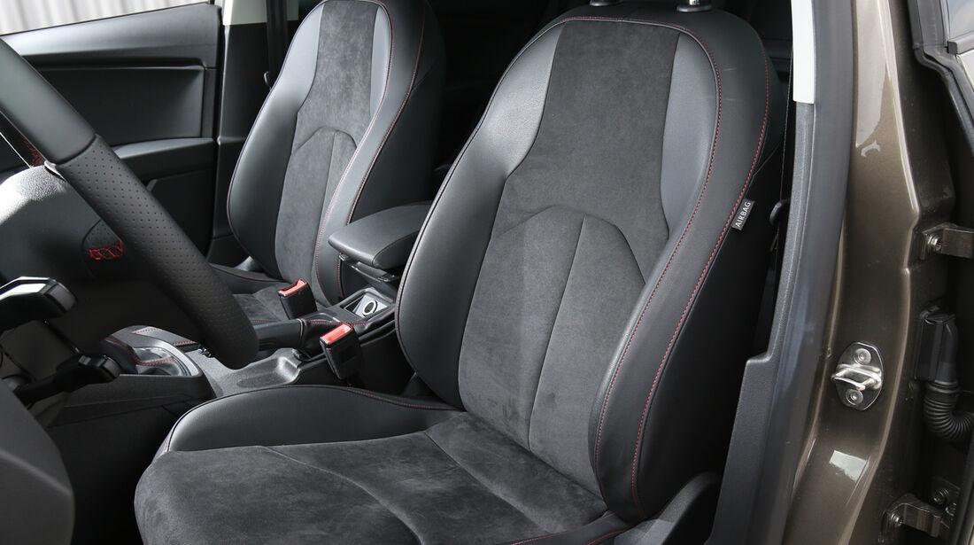 Seat Leon 2.0 TDI, Fahrersitz