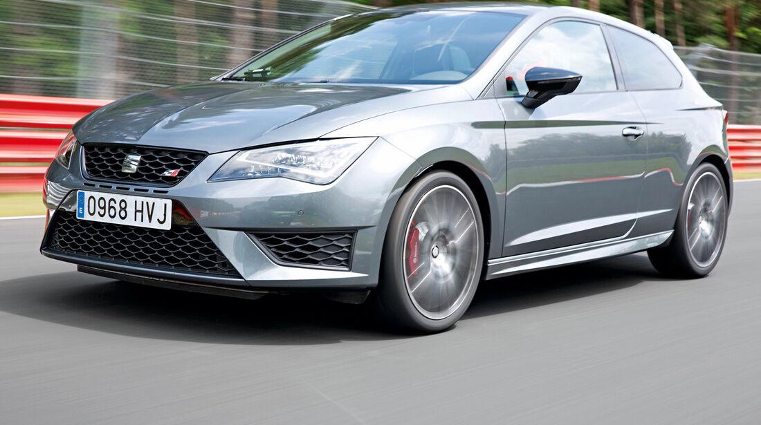 Seat Leon SC Cupra 280 Performance, Frontansicht