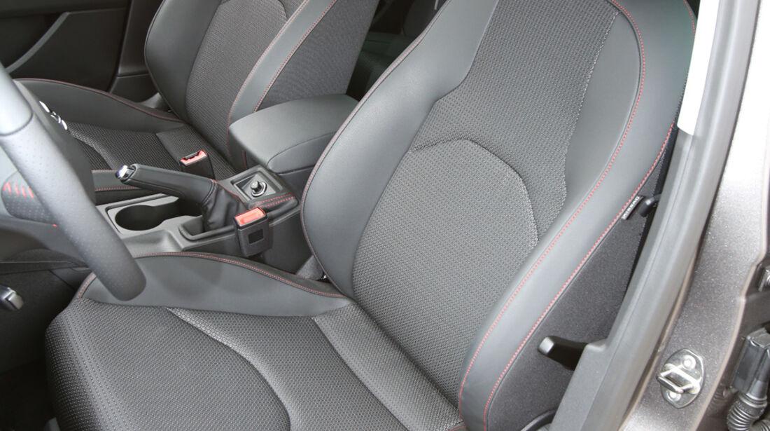Seat Leon ST, Fahrersitz