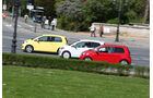 Seat Mii, Skoda Citigo, VW Up, Seitenansicht
