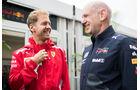 Sebastian Vettel & Adrian Newey - Formel 1 - GP USA - Austin - 20. Oktober 2018