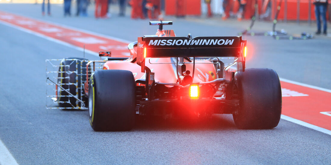 Sebastian Vettel - Ferrari - Barcelona - F1-Test - 27. Februar 2019