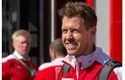 Sebastian Vettel - Ferrari - F1 - GP Spanien - Barcelona - Donnerstag - 12.5.2016