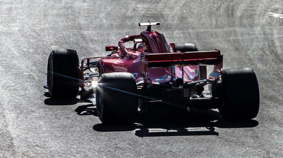 Sebastian Vettel - Ferrari - F1-Test - Barcelona - Tag 5 - 6. März 2018