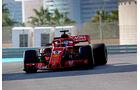 Sebastian Vettel - Ferrari - F1-Testfahrten - Abu Dhabi - 27.11.2018