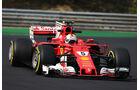 Sebastian Vettel - Ferrari - Formel 1 - Budapest - Test - 2. August 2017