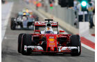 Sebastian Vettel - Ferrari - Formel 1 - GP Bahrain - 2. April 2016