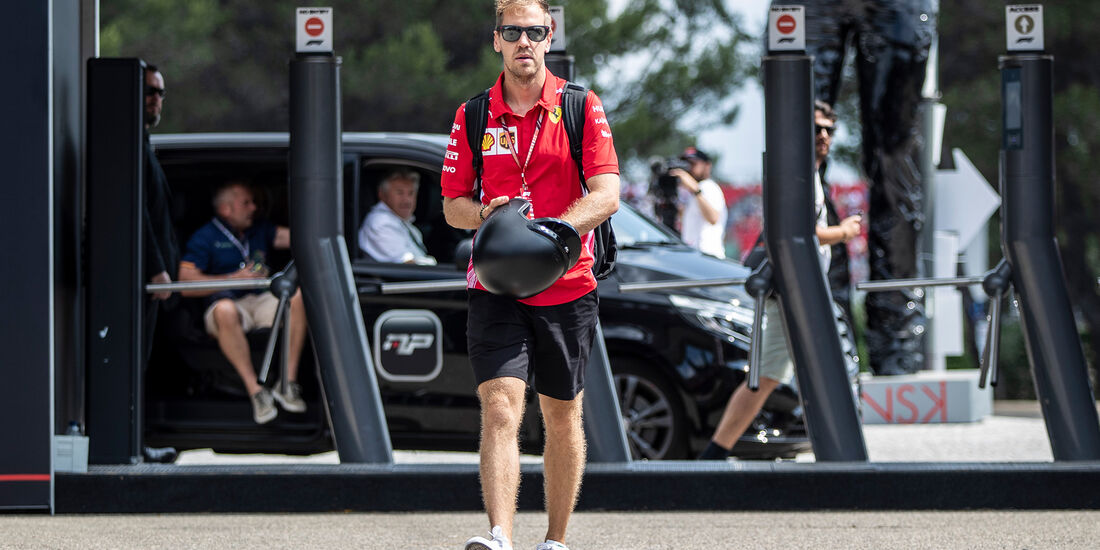 Sebastian Vettel - Ferrari - Formel 1 - GP Frankreich - Circuit Paul Ricard - Le Castellet - 23. Juni 2018