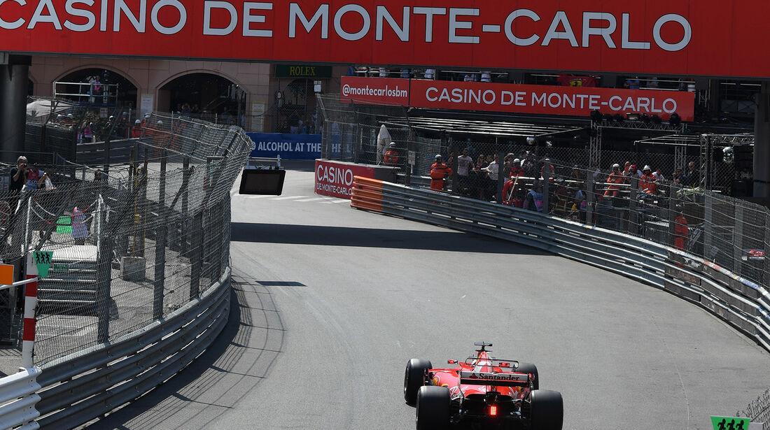 Sebastian Vettel - Ferrari - Formel 1 - GP Monaco - 25. Mai 2017