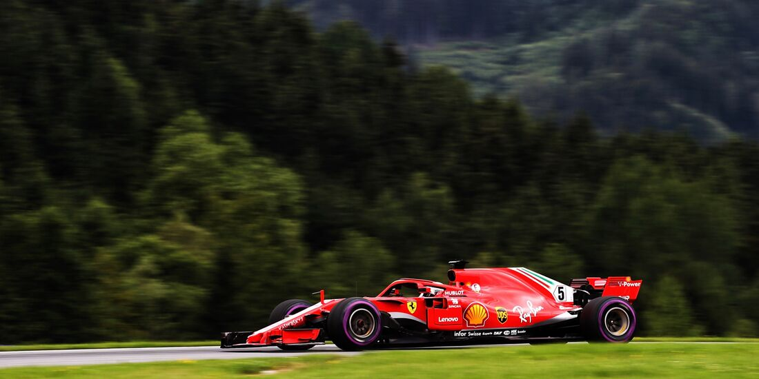 Sebastian Vettel - Ferrari - Formel 1 - GP Österreich - 29. Juni 2018