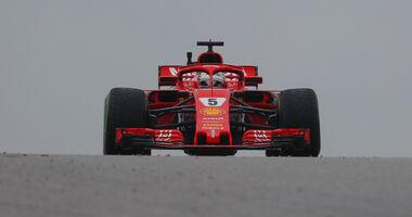 Sebastian Vettel - Ferrari - Formel 1 - GP USA - 19. Oktober 2018