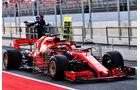 Sebastian Vettel - Ferrari - Formel 1 - Testfahrten - Barcelona - 15.5.2018