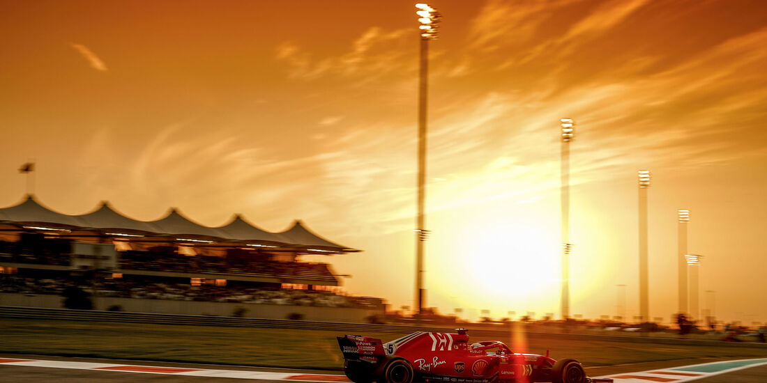 Sebastian Vettel - Ferrari - GP Abu Dhabi 2018