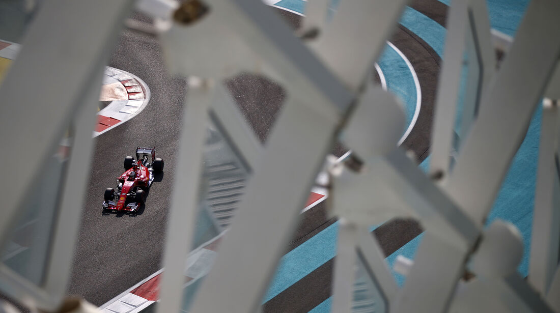 Sebastian Vettel - Ferrari - GP Abu Dhabi - 28. November 2015