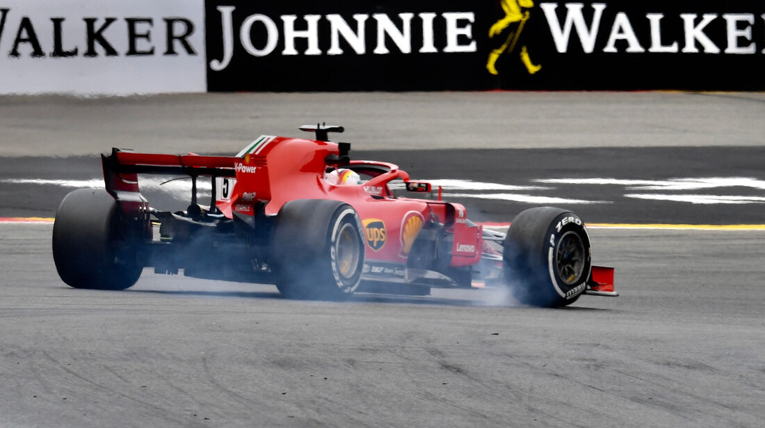 Sebastian Vettel - Ferrari - GP Belgien - Spa-Francorchamps - 24. August 2018