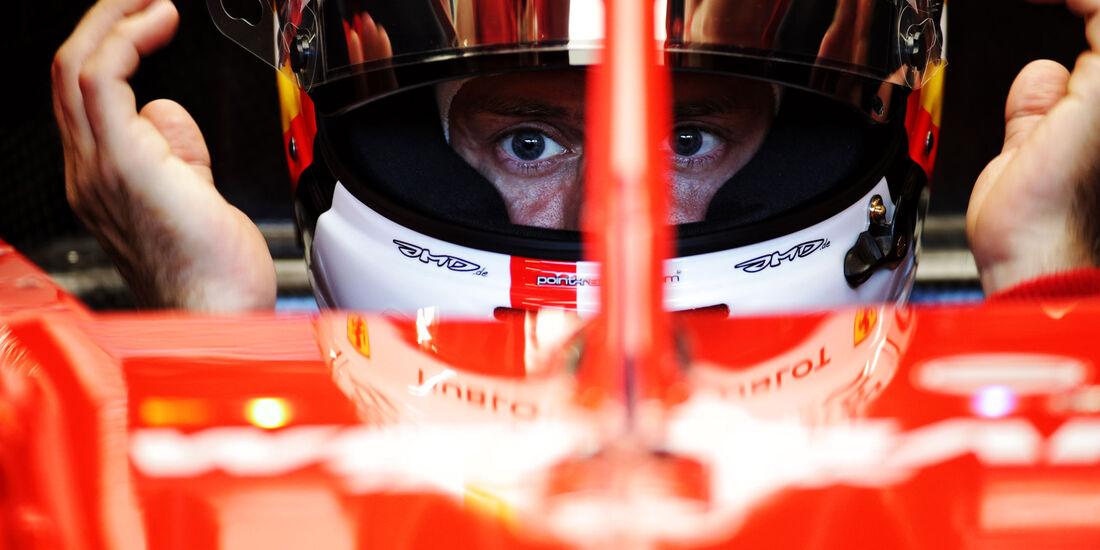 Sebastian Vettel - Ferrari - GP Deutschland - Hockenheim - Formel 1 - Freitag - 20.7.2018