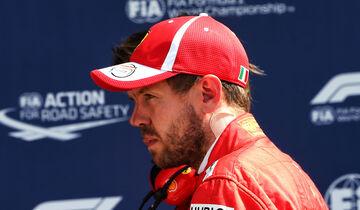 Sebastian Vettel - Ferrari - GP England 2018 - Silverstone - Qualifying