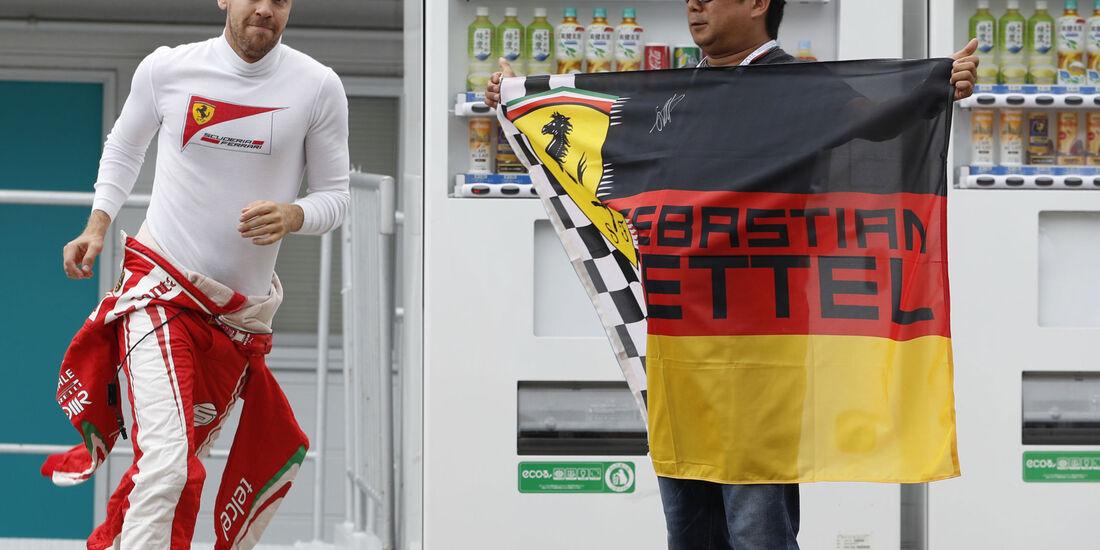 Sebastian Vettel - Ferrari - GP Japan 2016