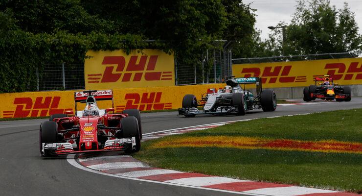 Sebastian Vettel - Ferrari - GP Kanada 2016 - Montreal