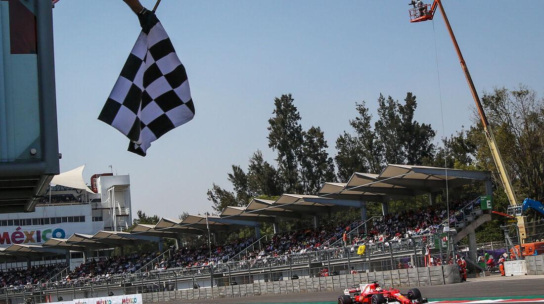 Sebastian Vettel - Ferrari - GP Mexiko 2017 - Qualifying