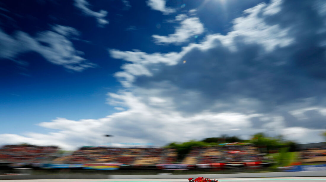 Sebastian Vettel - Ferrari - GP Spanien 2018
