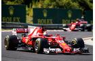 Sebastian Vettel - Ferrari - GP Ungarn 2017 - Budapest - Rennen