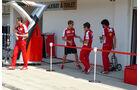 Sebastian Vettel - Ferrari - GP Ungarn - Budapest - Donnerstag - 23.7.2015