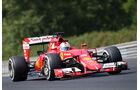 Sebastian Vettel - Ferrari - GP Ungarn - Budapest - Freitag - 24.7.2015