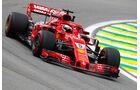 Sebastian Vettel - Ferrari SF71H - GP Brasilien 2018