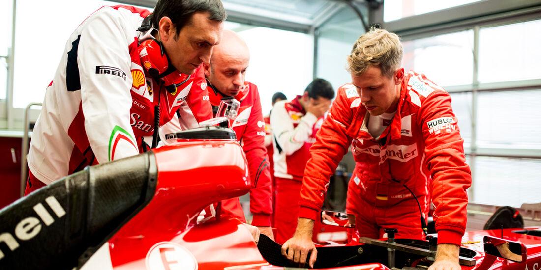 Sebastian Vettel - Ferrari-Test - Fiorano - 2014