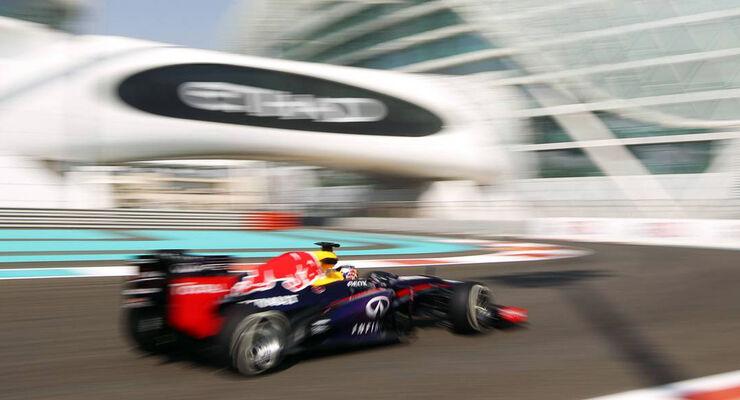 Sebastian Vettel  - Formel 1 - GP Abu Dhabi - 01. November 2013