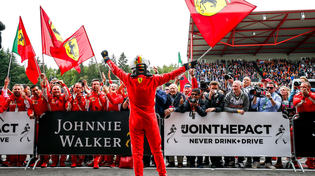 Sebastian Vettel - Formel 1 - GP Belgien 2018