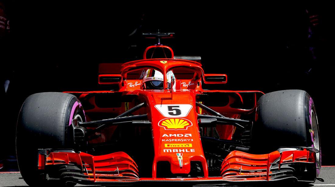 Sebastian Vettel - Formel 1 - GP Frankreich 2018