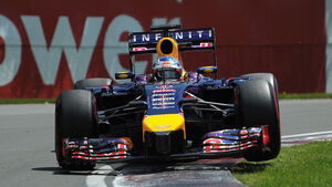 Sebastian Vettel - Formel 1 - GP Kanada 2014