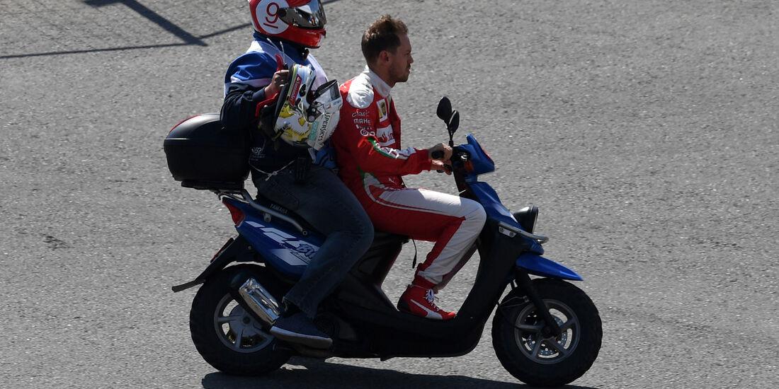 Sebastian Vettel - Formel 1 - GP Russland - 1. Mai 2016
