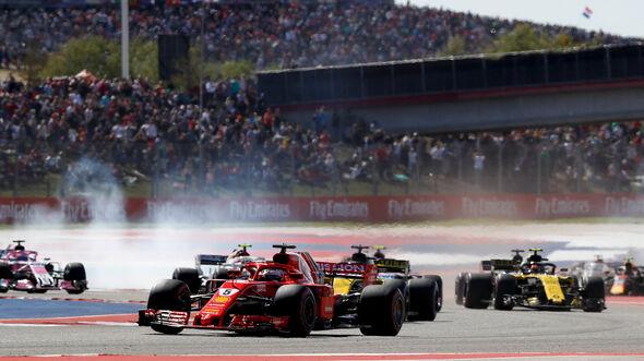 Sebastian Vettel - Formel 1 - GP USA - Austin - 2018