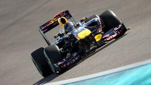 Sebastian Vettel GP Abu Dhabi 2011