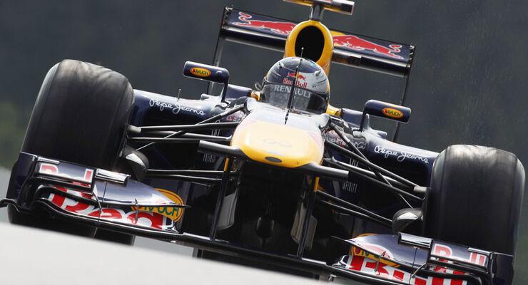 Sebastian Vettel - GP Belgien - 26. August 2011