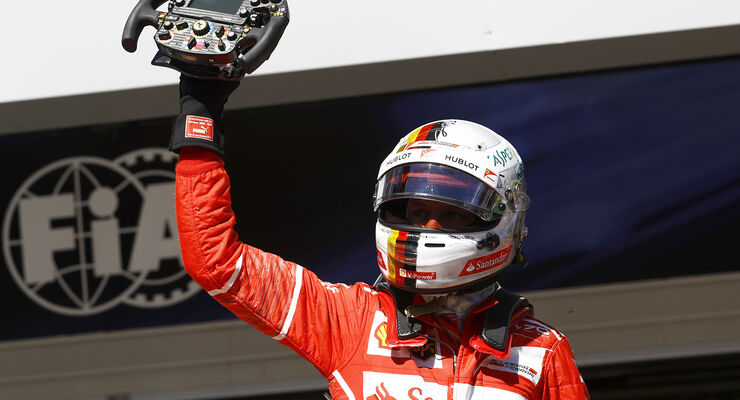 Sebastian Vettel - GP Brasilien 2017