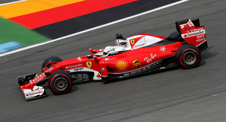 Sebastian Vettel - GP Deutschland 2016