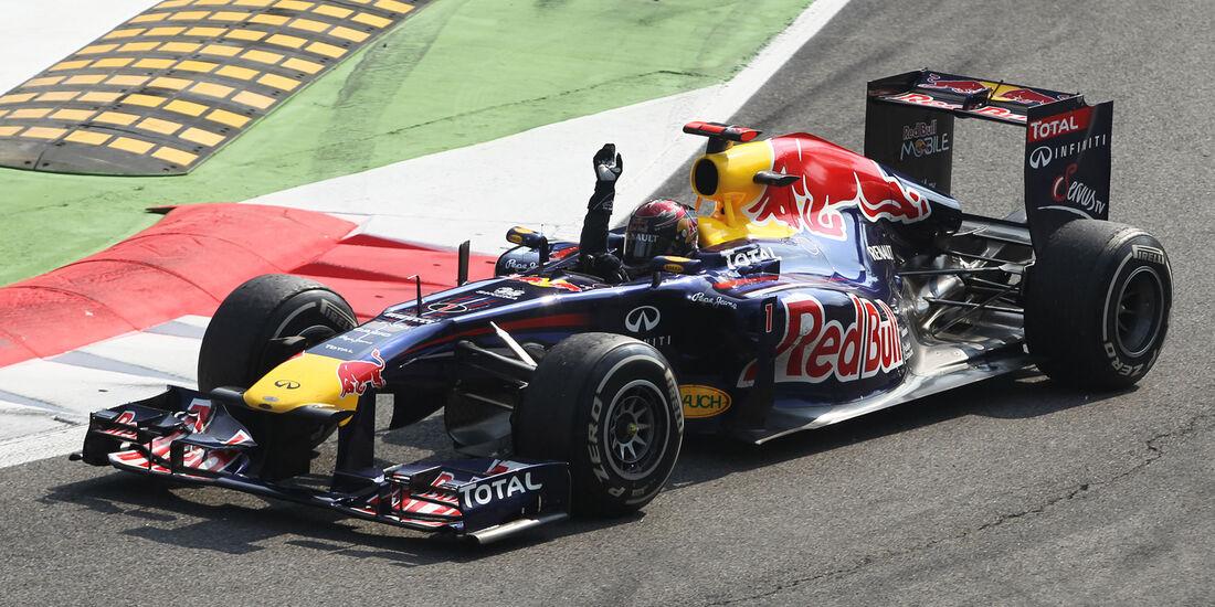 Sebastian Vettel - GP Italien 2011