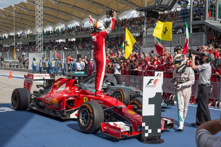 Sebastian Vettel - GP Malaysia 2015