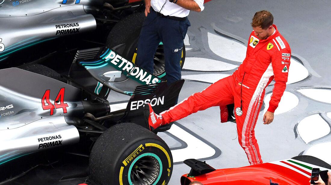 Sebastian Vettel - GP Russland 2018