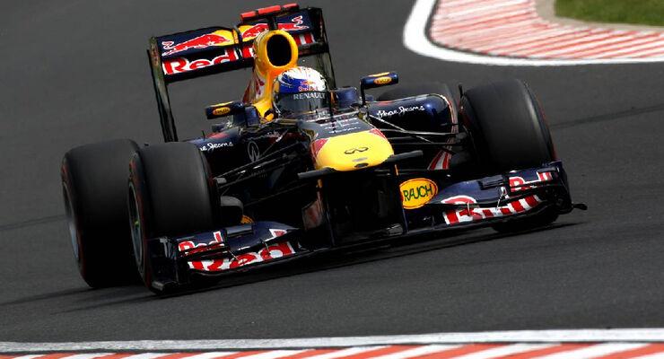 Sebastian Vettel - GP Ungarn - Formel 1 - 29.7.2011