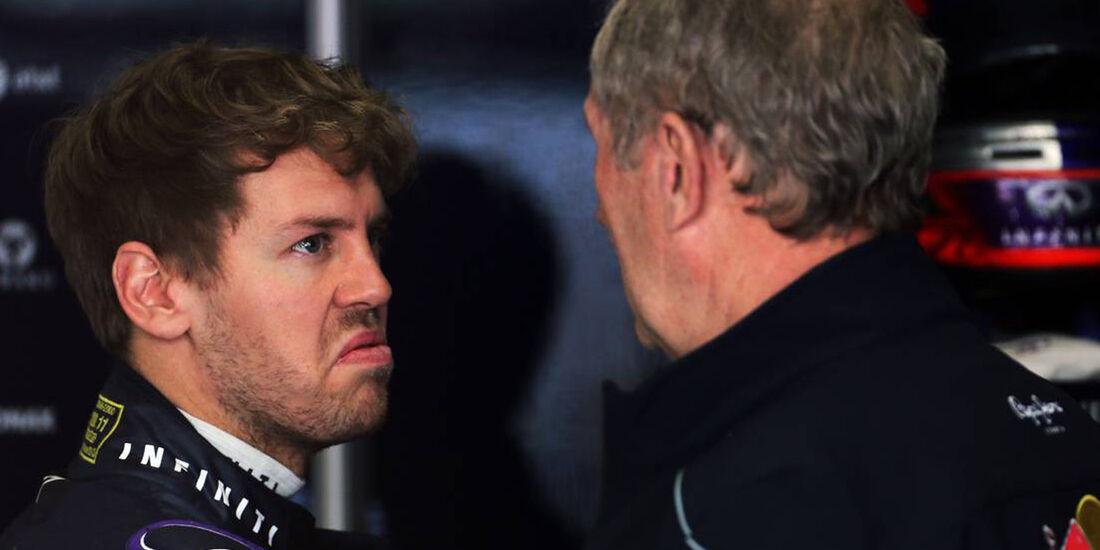 Sebastian Vettel Helmut Marko - Formel 1 - GP China - 12. April 2013